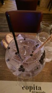 Nordes - a Spanish gin, heavy on the Juniper